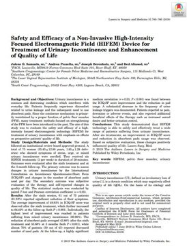 Safety and Efficacy of HIFEM